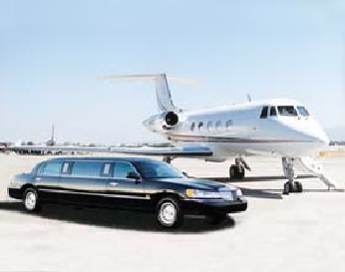 Limousine and Airplane